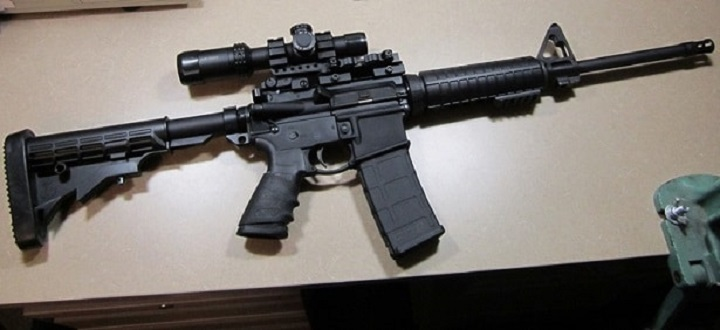 best scope for ruger ar 556