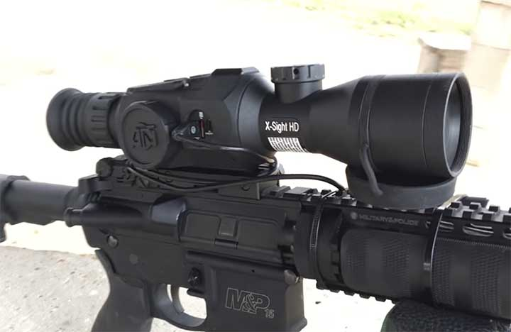 night vision scope for rifle